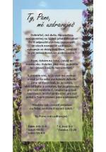 Karta povzbuzení – Ty mě uzdravuješ