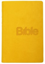 Bible 21 - 2018 - imitace kůže (mustard)
