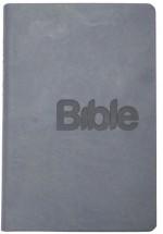 Bible 21 - 2018 - imitace kůže (silvergray)