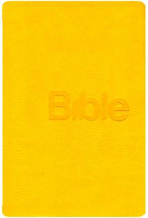 Bible 21 - imitace kůže, charme jaune