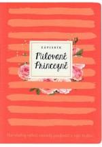 Milované Princezně - zápisník (meruňka)