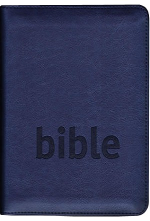 Bible ČSP - modrá na zip - výřezy