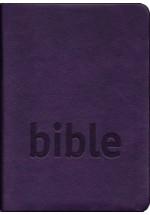 Bible ČSP - fialová - výřezy