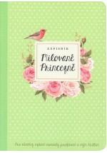 Milované Princezně - zápisník (pistácie)