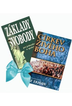 Akce 2 knihy Ekman 2.