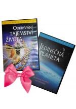 DVD Jedinečná planeta + Odkrývání tajemství života