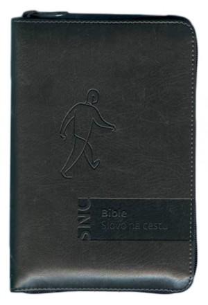 Bible Slovo na cestu – zip, šedočerná