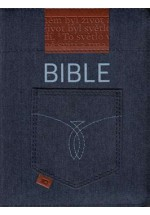 Bible ČEP se zipem - jeans