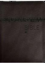 Bible ČEP se zipem - hnědá