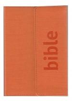 Bible ČSP - oranžová, klopa (magnet)